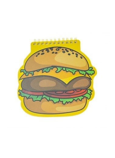 LWP Shop Nanu Nana Burger Not Defter Sarı